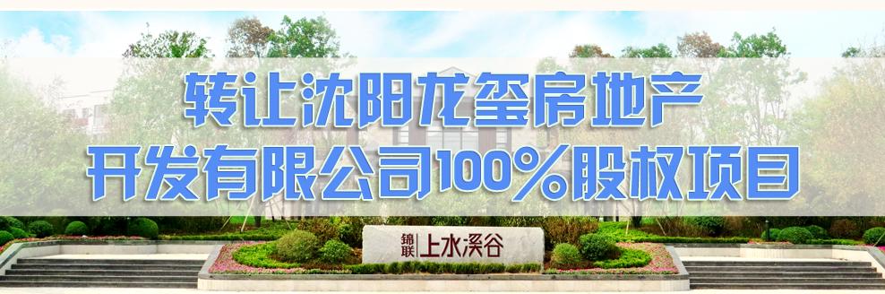 转让沈阳花玺房地产开发有限公司100%股权项目